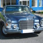 Glanzlackierung Mercedes - Oldtimer