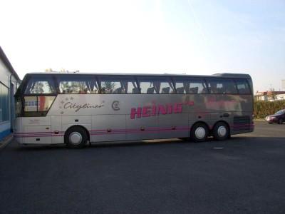 Bus Lackierung - Seitenansicht