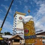 Aufbau und Montage des Bierkruges - Oktoberfest