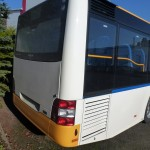 MAN Bus – Teillackierung