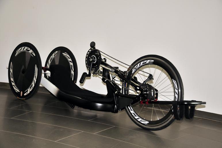 Fahrrad Lackierung Seite