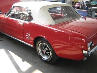 Auto Lackierung - Oldtimer