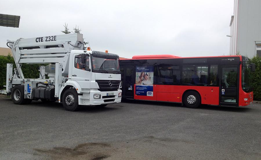 Bus und LKW Lackierung