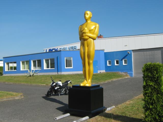 Oscar von der Seite