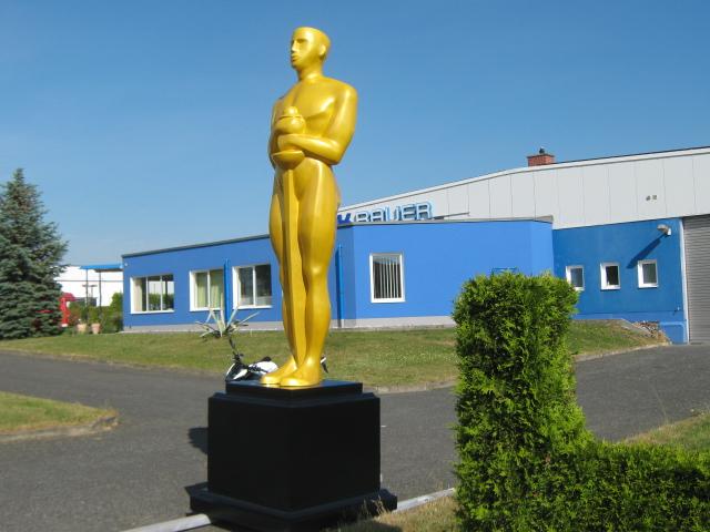 Oscar strahlt