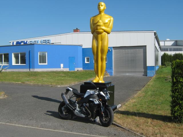 Oscar mit EBR Dream-Team